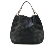 Handtasche mit Intrecciato-Flechtmuster