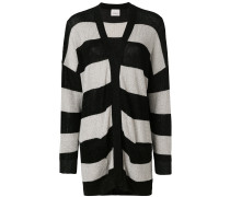 slouchy striped cardigan