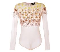 sequinned mesh bodysuit