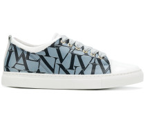 logo printed sneakers