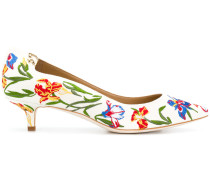 'Iris' Pumps mit Stickerei