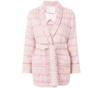 Tweed-Blazer im Oversized-Desing