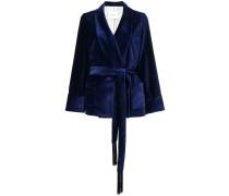 Kimonojacke aus Samt