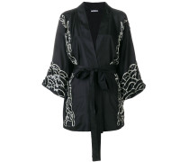 P.A.R.O.S.H. embroidered wrap jacket