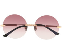 Runde 'Crystal Nest' Sonnenbrille