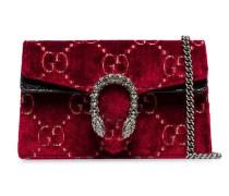 'Dionysus' Super-Mini-Tasche aus Samt