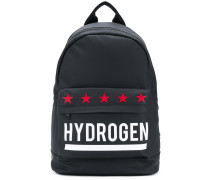 star logoed backpack