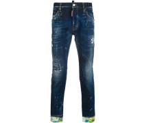 'Skater' Distressed-Jeans