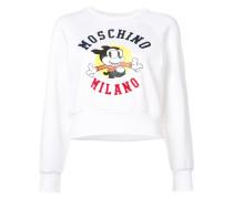 'Mickey' Sweatshirt mit Logo