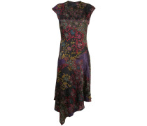Kleid mit Jacquard-Print
