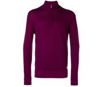 front zip pullover