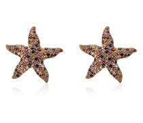 'Star' Ohrringe mit Saphiren