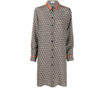 Langes Hemd mit Gancini-Muster