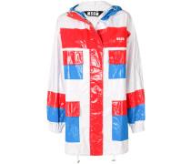 pocket embellished coat