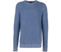 Pullover mit Waffelmuster