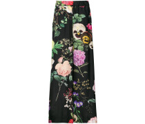 P.A.R.O.S.H. Pansy print trousers