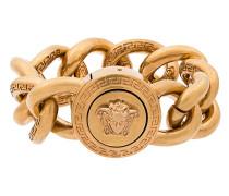 Massives Armband mit Medusa-Logo