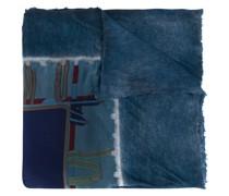 Schal mit Gürtel-Print
