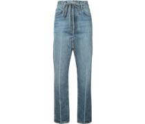 Jeans mit Paperbag-Bund