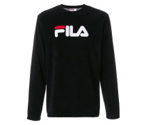 Sweatshirt mit Logo-Patches
