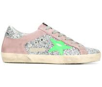 'Superstar' Sneakers im Glitter-Look