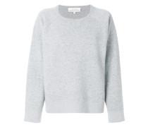 round neck boxy sweatshirt
