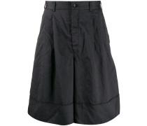 Weite Jacquard-Shorts