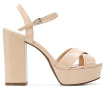 chunky high heel sandals