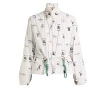 Logo-print shell jacket - Unavailable
