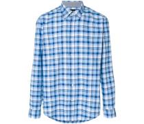 plaid long-sleeve shirt
