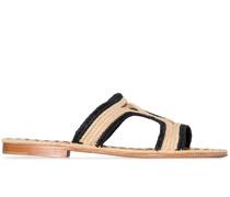 Zweifarbige 'Moha' Sandalen