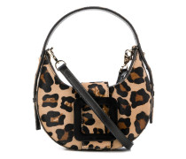 Handtasche mit Geparden-Print