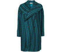 Mantel mit grafischem Muster