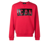 "Sweatshirt mit ""Icon""-Print"