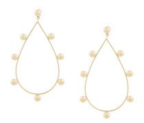 large tear drop hoop earrings
