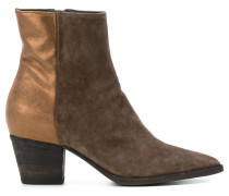 Audrey two-tone boots