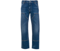 Weite 'Phoebe' Cropped-Jeans