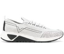 'S-KBY' Sneakers mit Risseffekt