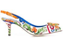 Bellucci embellished slingback pumps