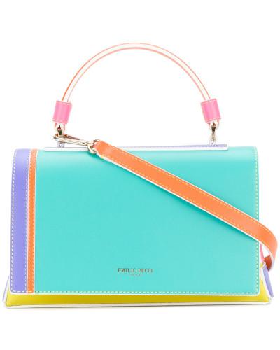 Emilio Pucci Damen Handtasche in Colour-Block-Optik Billigpreisnachlass Authentisch Beste Preise Im Netz Um Online-Verkauf F6Nyf5R