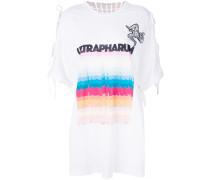 T-Shirt mit Colour-Block-Print
