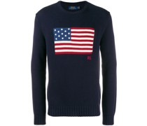 Pullover mit US-Flagge