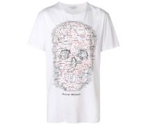 """T-Shirt mit """"Map Skull""""-Print"""