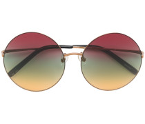 round multicoloured sunglasses