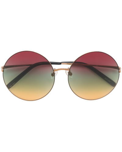 round multicoloured sunglasses