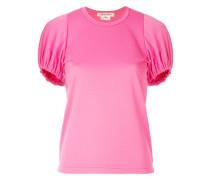 T-Shirt mit elastischen Bündchen