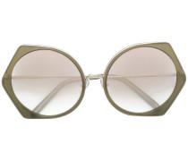 carved round sunglasses