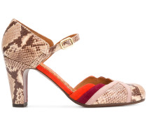 snakeskin effect Mary Janes