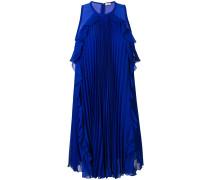 plisse mini sleeveless dress