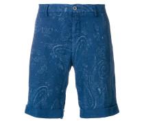 Bermuda-Shorts mit Paisley-Print